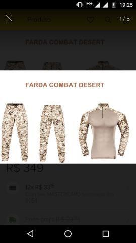 Vendo um uniforme desert da invictos