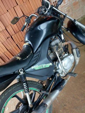 Moto pra vender logo