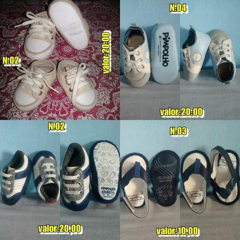 Sapatos de 0 a 3 anos p/MENINO