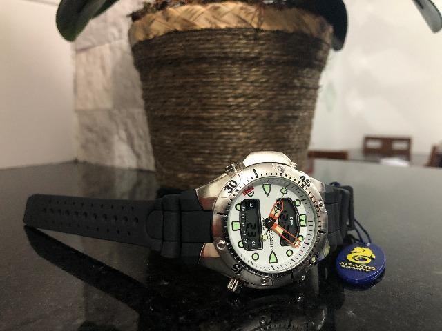 Relógio Aqualand Branco Masculino Promaster Atlantis
