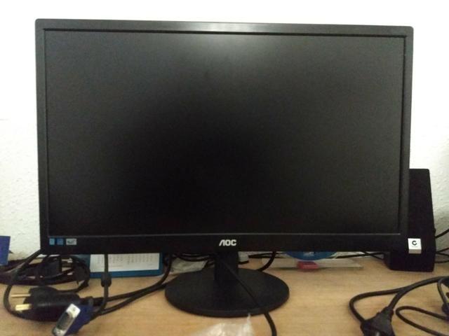 Monitor AOC Led 21.5 polegadas Widescreen