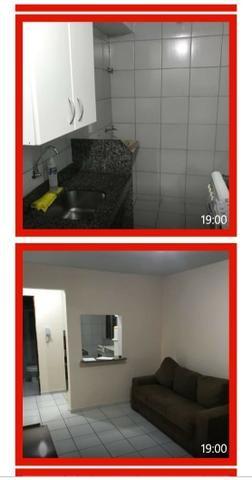 Investimento garantido, vendo apartamento mobiliado e já alugado com contrato de 01 ano