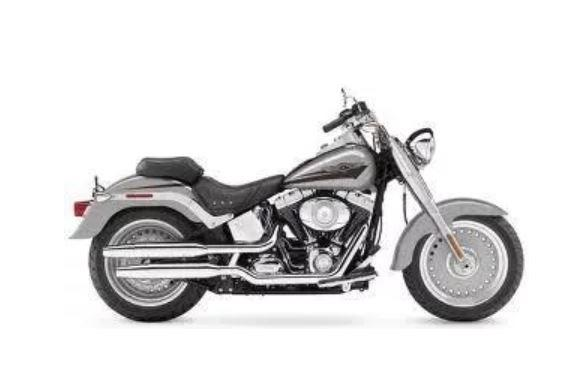 Paralama traseiro Harley Davidson 07 Fat Boy