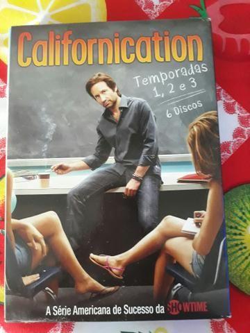 Vendo as três primeiras temporadas da serie californication