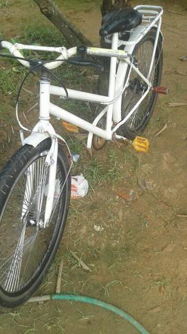 Vendo bike branca barato