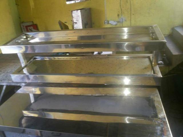 Fabricação em aço inox