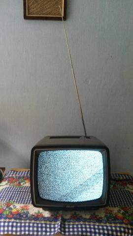 Televisão Phillco Preto E Branco Antiga