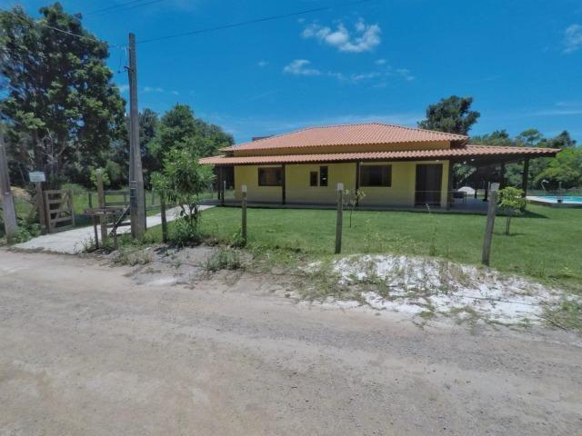 Chácara dos sonhos c/ casa de 3 quartos, piscina e área de 1000 m²,600 m da praia - Foto 6