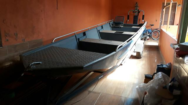 Barco de aluminio 6 mts