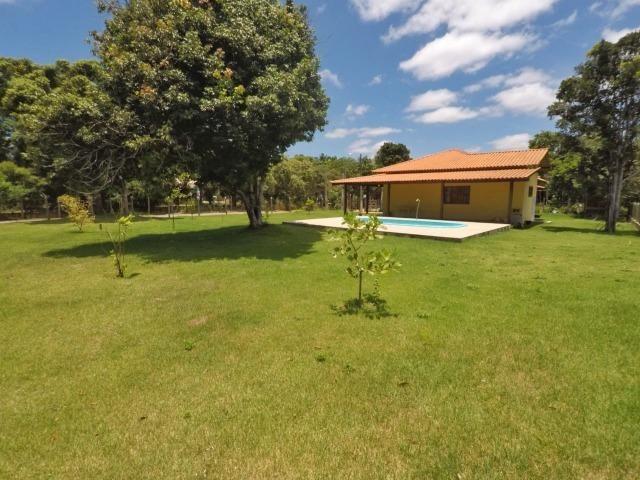 Chácara dos sonhos c/ casa de 3 quartos, piscina e área de 1000 m²,600 m da praia - Foto 18