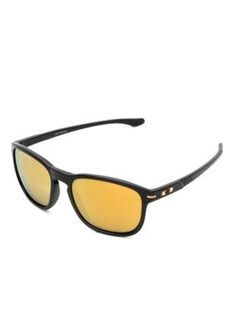 b6034cce703cb Óculos de Sol Oakley Enduro Iridium Preto Lentes Amarelas ...