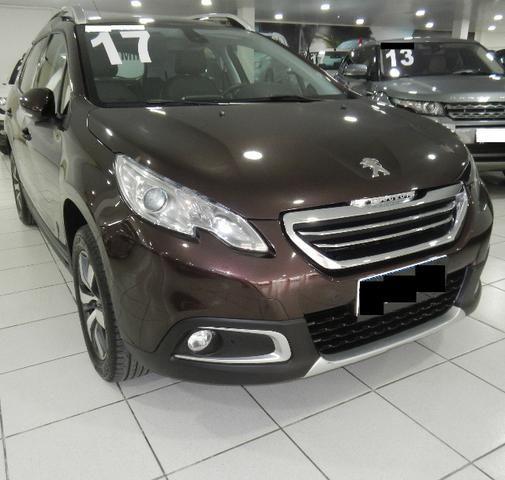 Peugeot 2008 Griffe 1.6 Aut. Top Completo 32.000KM Teto Bco Couro Rodas 16 Muito novo