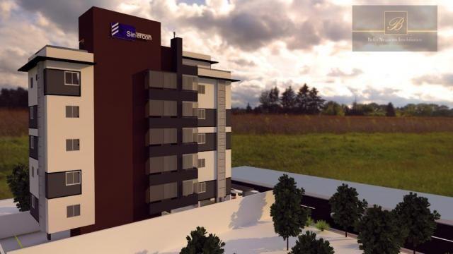 Apartamento com 2 dormitórios à venda, 55 m² por R$ 182.524 - Santa Catarina - Joinville/S - Foto 3