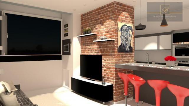 Apartamento com 2 dormitórios à venda, 55 m² por R$ 182.524 - Santa Catarina - Joinville/S - Foto 7