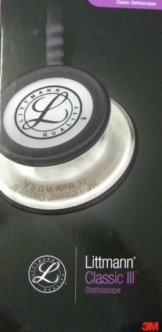 Estetoscópio littimann Classic 3 acedeção especial cor preto e chocolate - Foto 6