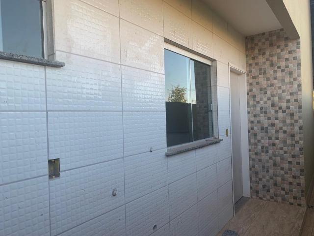Casa com fino acabamento garagem coberta até 100% financiada pelo Minha Casa Minha Vida - Foto 14