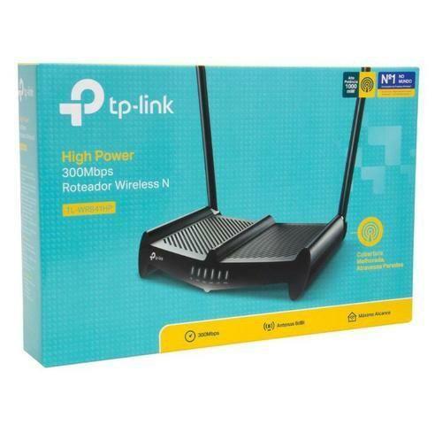 Roteador Wireless Quebra Parede Tl-wr841hp 1000mw 2 Ant 8dbi
