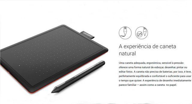 Mesa Digitalizadora One by Wacom, Com caneta digital sensível à pressão, sem fio - Foto 6