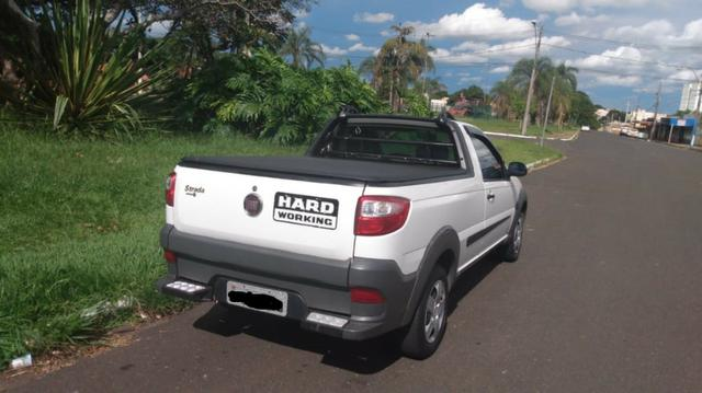 Strada Hard Working 1.4 completa 2018 - Documento 2020 tudo pago - Foto 4