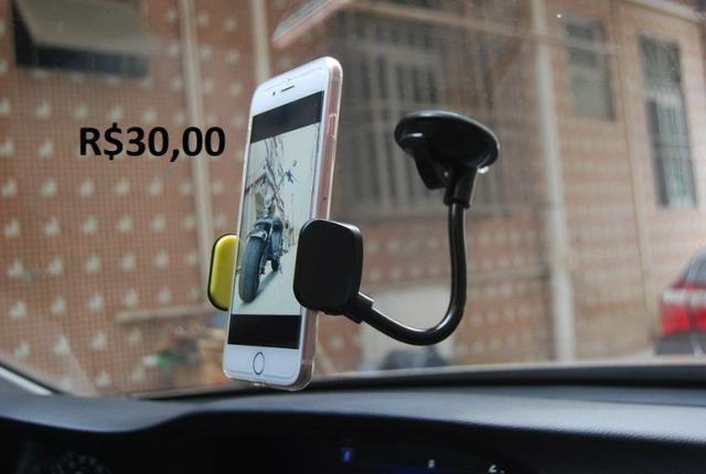 Carregador Veicular, Suporte de Celular, Bluetooth e muito mais - Foto 8