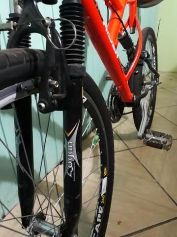 Bicicleta mormaii aro 26 bem nova(ler anuncio) - Foto 2
