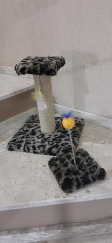 Arranhador e brinquedo para filhotes - Foto 2