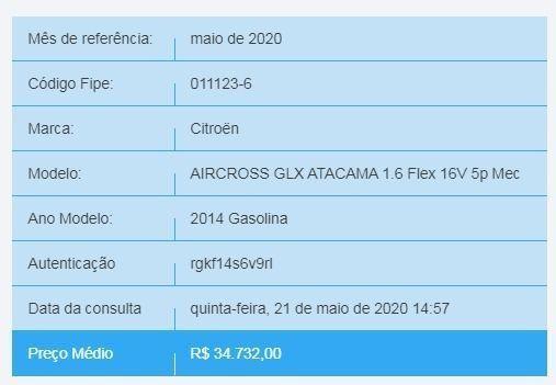 Vende-se Aircross GLX Atacama - Ano 2014/14 - Foto 8