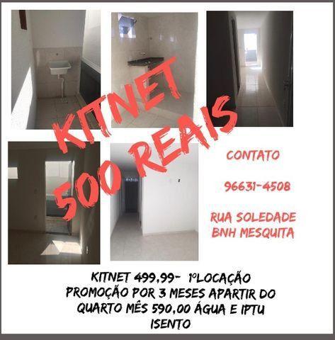 Kitnet BNH-Mesquita R$500,00 Rua Soledade