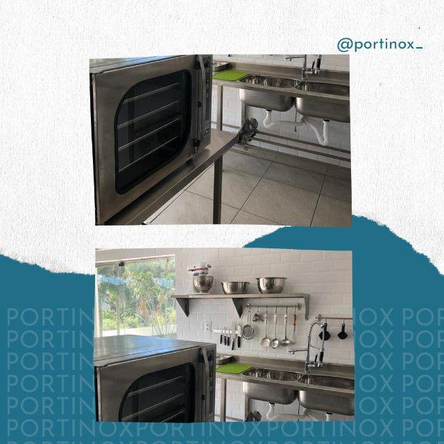 Moveis inox monte sua cozinha industrial - se prepare para temporada - Foto 2