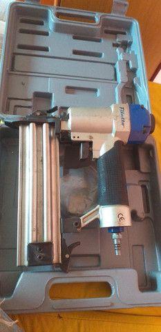 Grampeadora pneumática pinadeira - Foto 5