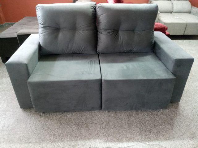 Sofa pronta entrega parcelo no cartao - Foto 4