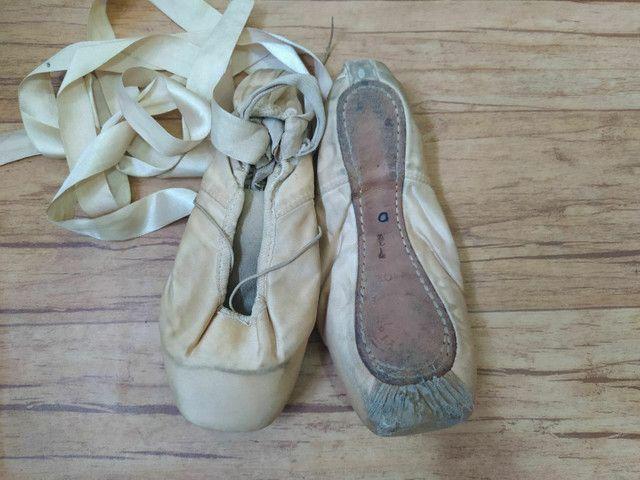 Sapatilha Ponta Partner Box Capezio Ballet - Foto 3