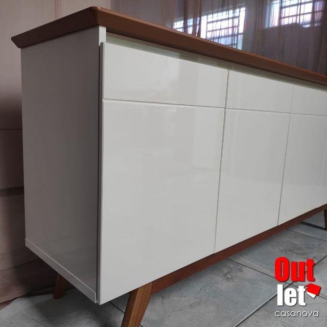 Buffet Clássico 4 Portas NOVO - Foto 3