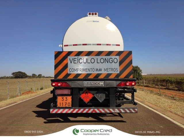 Carreta Bitrenzão Tanque 3x3 Randon 2019/2019 62 mil litros Com pneus  - Foto 19