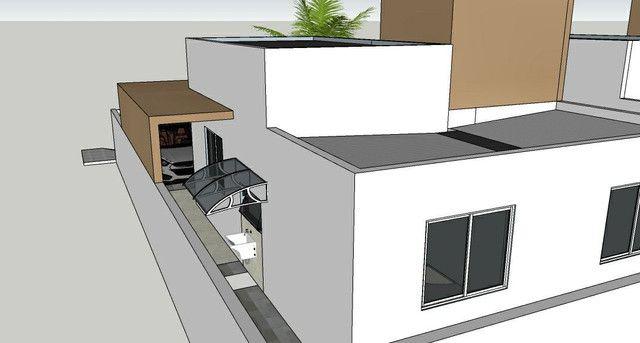 Casa solta de esquina, 3 qts, com piscina! - Foto 5