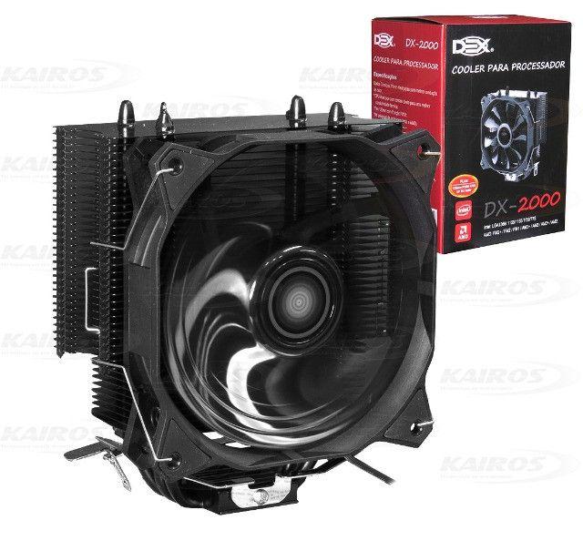 Cooler Gamer para processador Dex DX-2000 Intel ou AMD - Foto 3