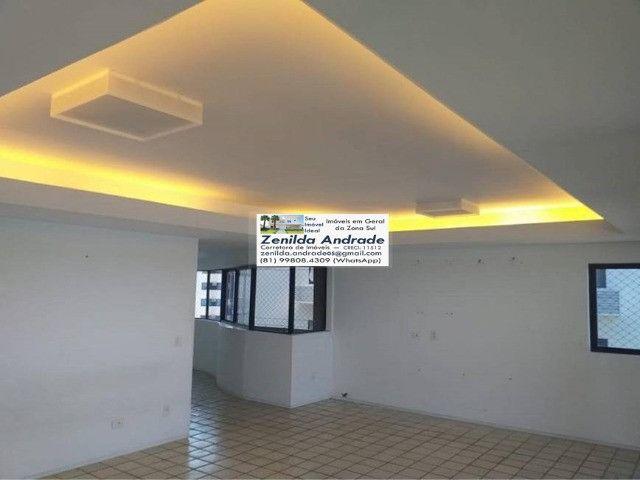 AL139 Apartamento 4 Quartos Suítes, Varanda, Dependência, 6 Wc, 3 Vagas, 250m², Boa Viagem - Foto 3