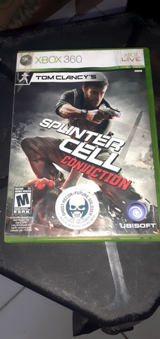 Jogo de Xbox 360 splinter cell conviction