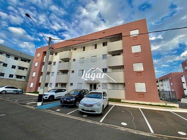Apartamento com 2 dormitórios para alugar por R$ 900,00/mês - Jardim Morumbi - Marília/SP - Foto 2