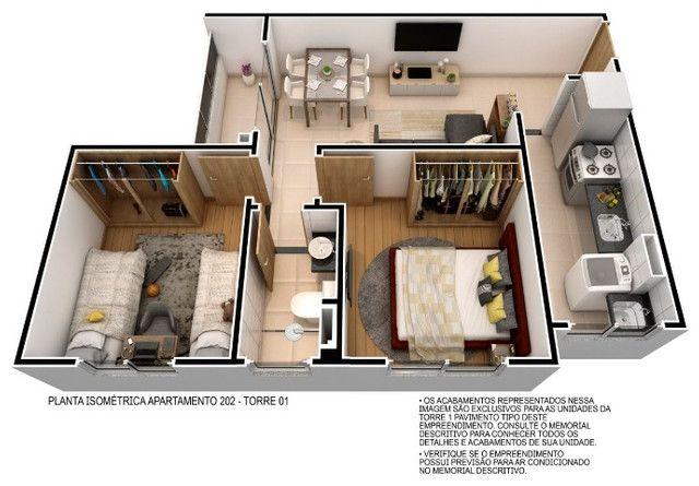 Venha morar no melhor do passaré com lazer completo 2 quartos e elevador. - Foto 9