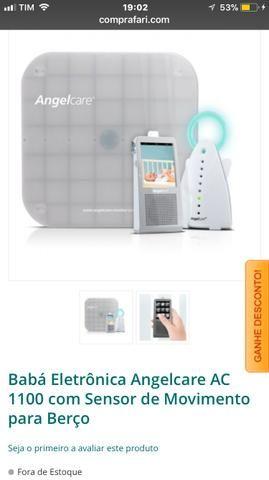 Baba eletrônica AngelCare com sensor de respiração e muito mais !! Semi Novo