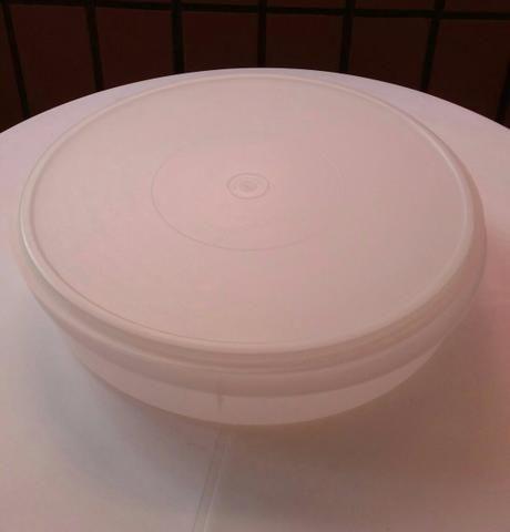 Porta torta tupperware