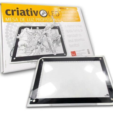 Mesa de Luz Led A4 Criativo