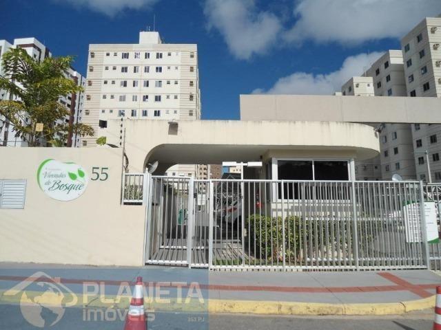 Apartamento 3/4 atrás do mercantil Rodrigues - Cond. Vivendas do Bosque - Jabotiana
