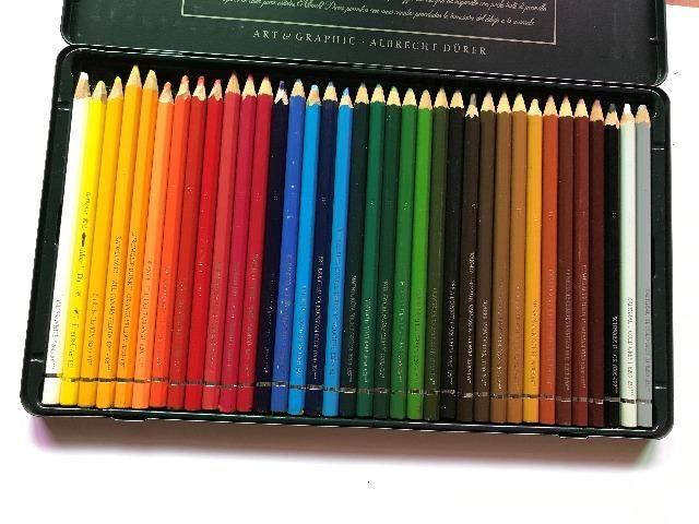 Lápis De Cor Aquarelável Faber Castell Albrecht Durer 36 cores Estojo