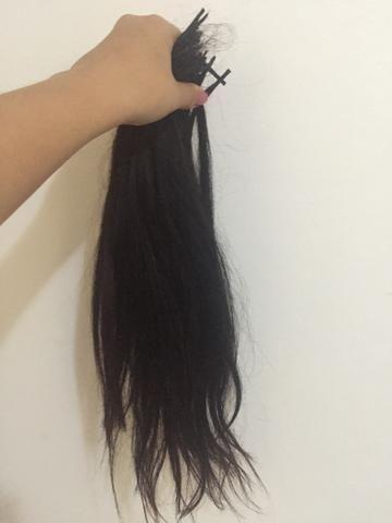 Cabelo humano p mega hair