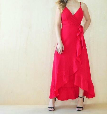Vendo vestido tam M mais vesti tmb G