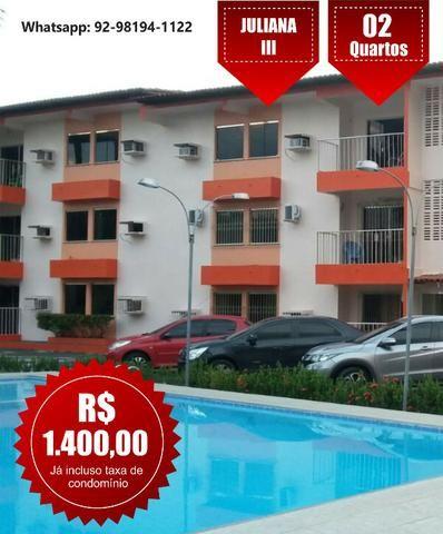 Apartamento com 2 quartos, 2 vagas, Parque 10 - Condomínio Juliana 3