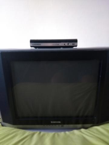 TV e DVD e com o conversor digital