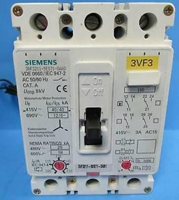 Siemens Disjuntor 3vf3211-1bw41-0ac2